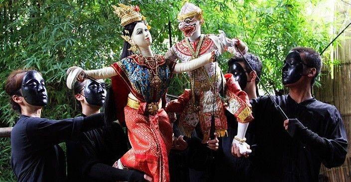 Enjoy Khlong Lat Mayom Floating Market & See Thai Puppet Show