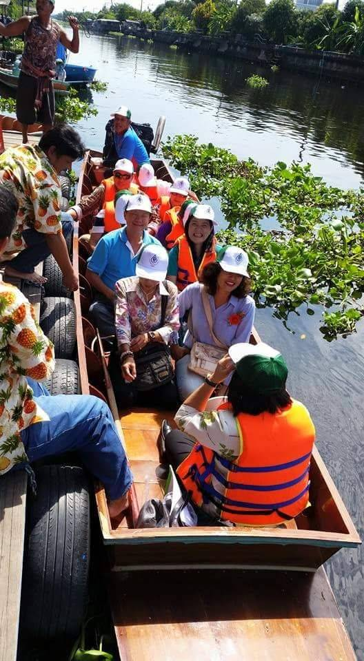 "Plaibang Community River Life Style Sightseeing : ""The Venice of West Bangkok"""