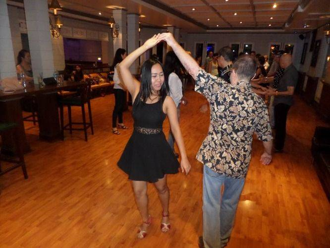 Learning Dancing in Bangkok with An Expert