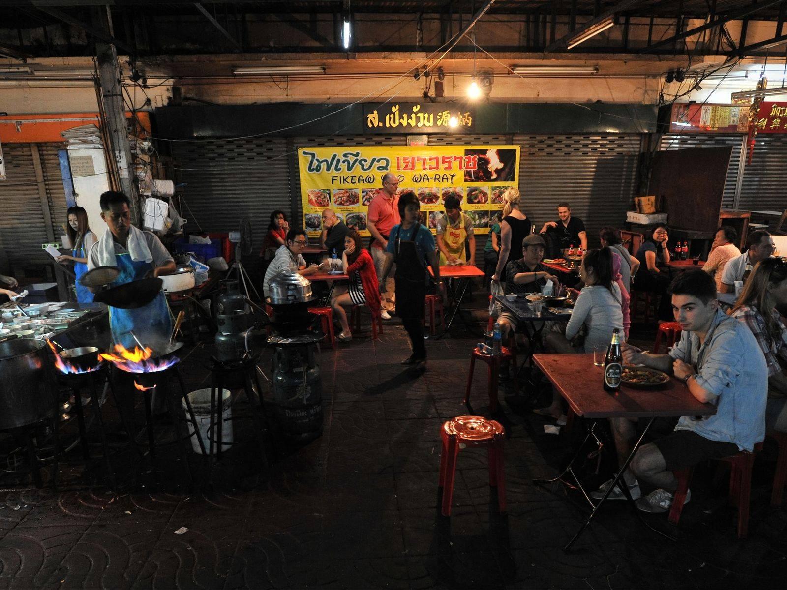 Bangkok's Chinatown District
