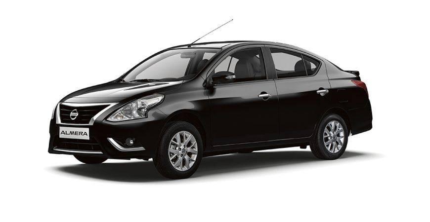Car Rental (Nissan Almera) with Personal Driver