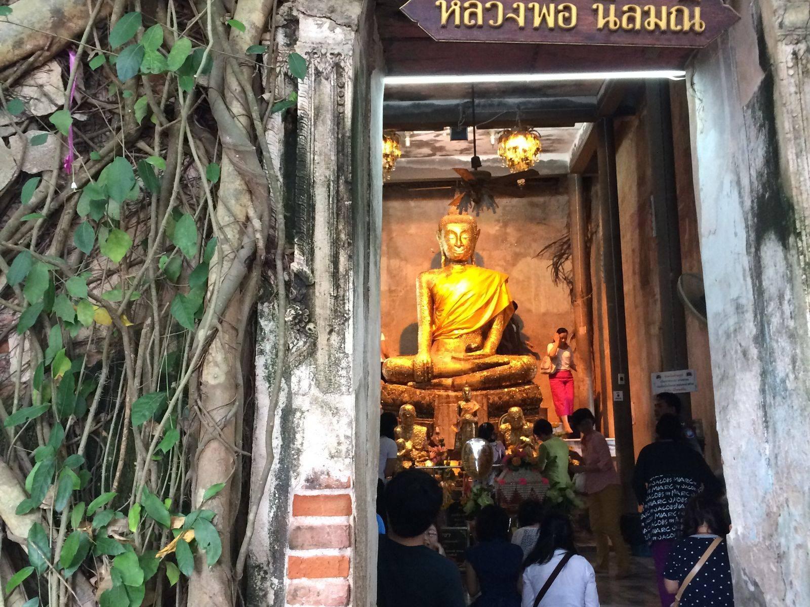 [Private Boat] Mae Klong Railway Market x Damnoen Saduak Floating Market x Bang Kung Temple (Buddha statue in Tree-covered Temple)