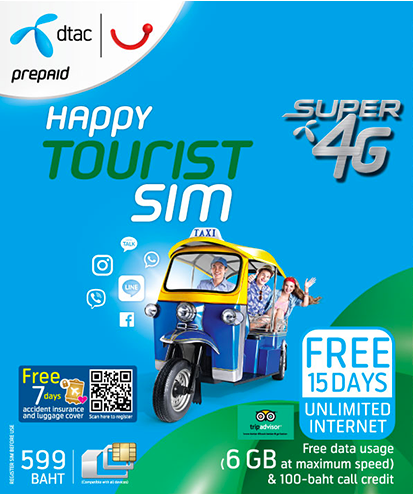 15-Day Tourist SIM