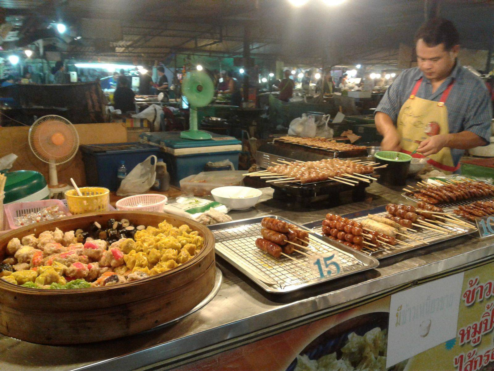Authentic Isaan Street food in Ubon City