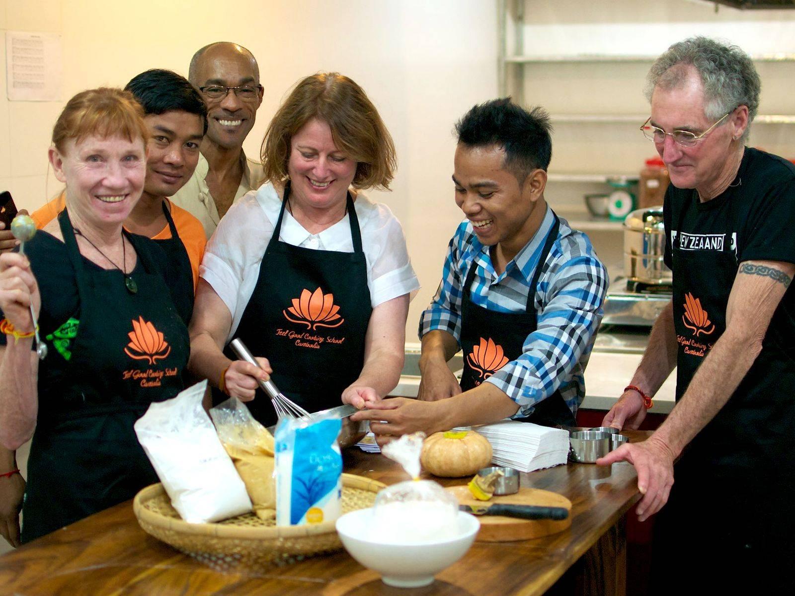 Feel Good Cooking School - Chef Nara