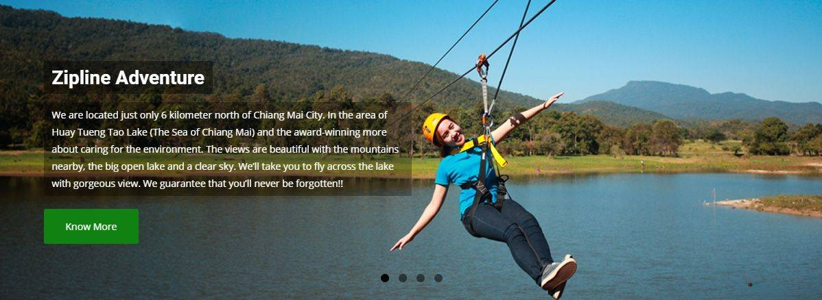The Real ZIPLINE ADVENTURE - Sea of Chiang Mai