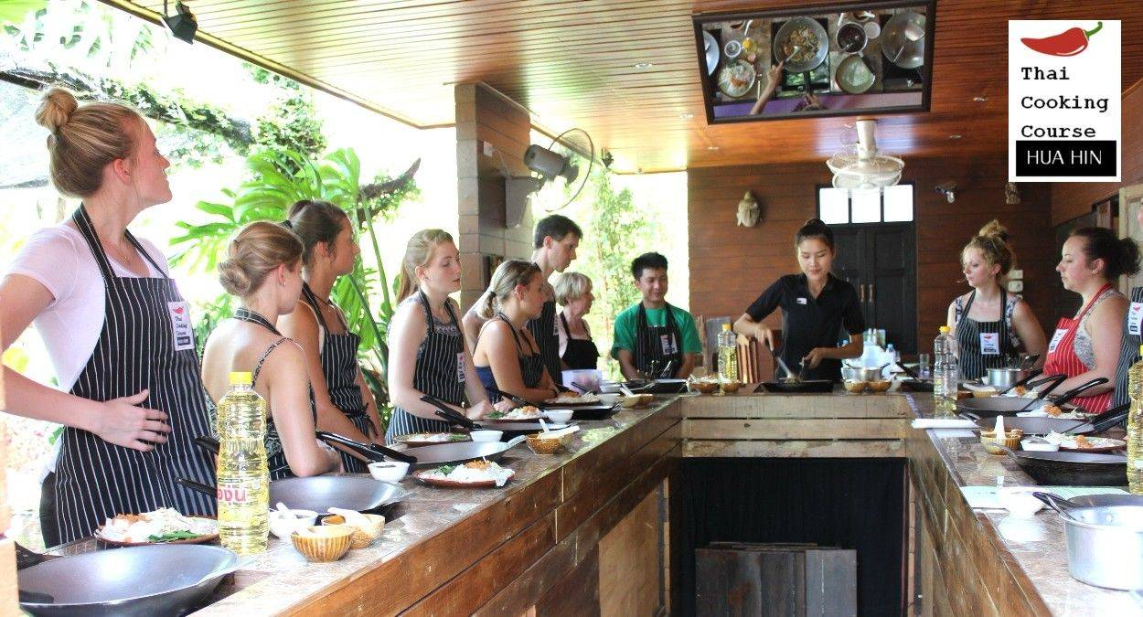 Cooking Class in Hua Hin with tour of 100 year old Market