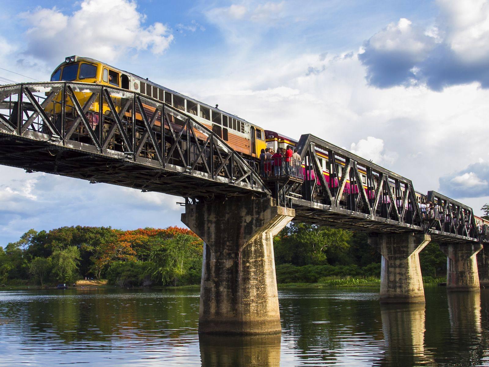 Kanchanaburi province & its historical World War II railway