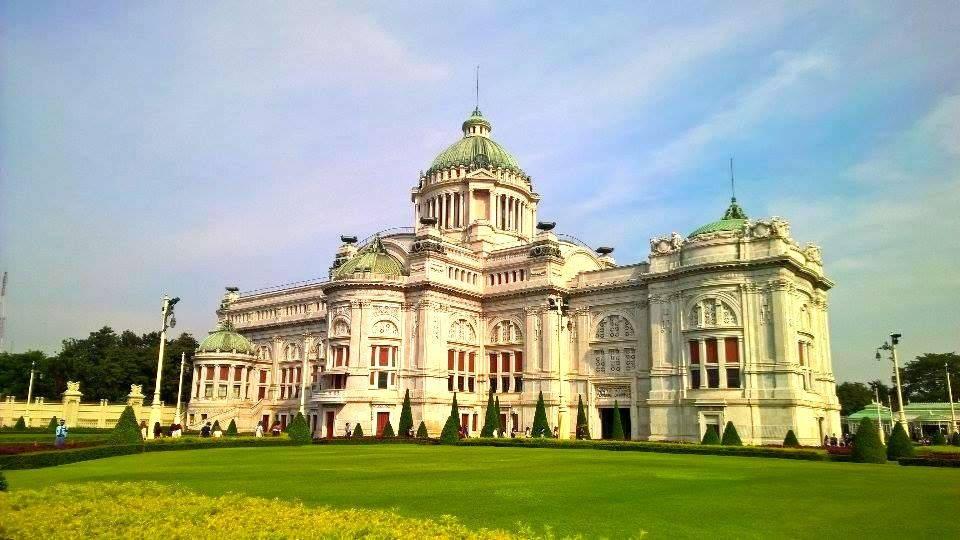 Bangkok Through Time. Great Throne Hall, Royal Temple and Rattanakosin Exhibition Hall.