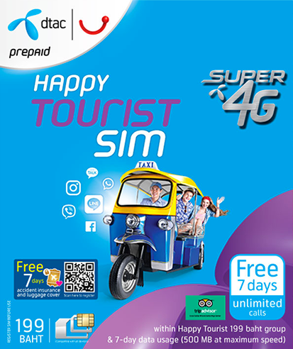 7-Day Tourist SIM