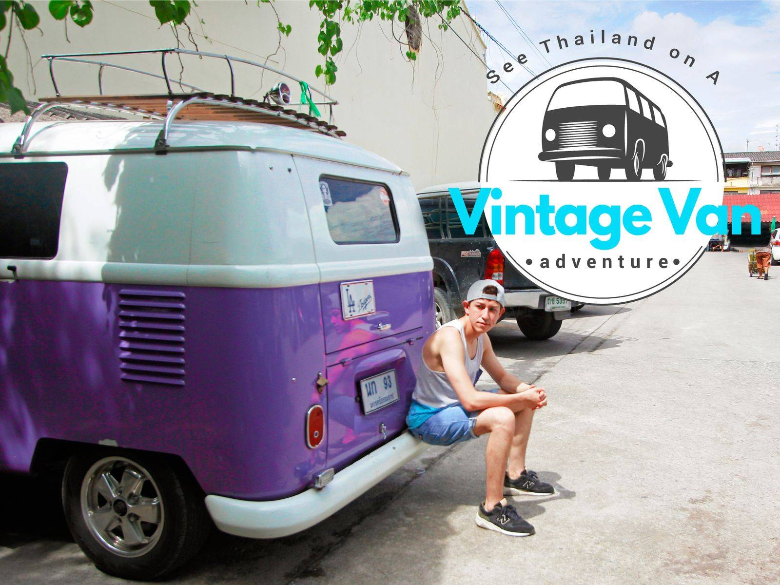 One Day Trip around Suvarnabhumi Airport on A Vintage Volkswagen Van