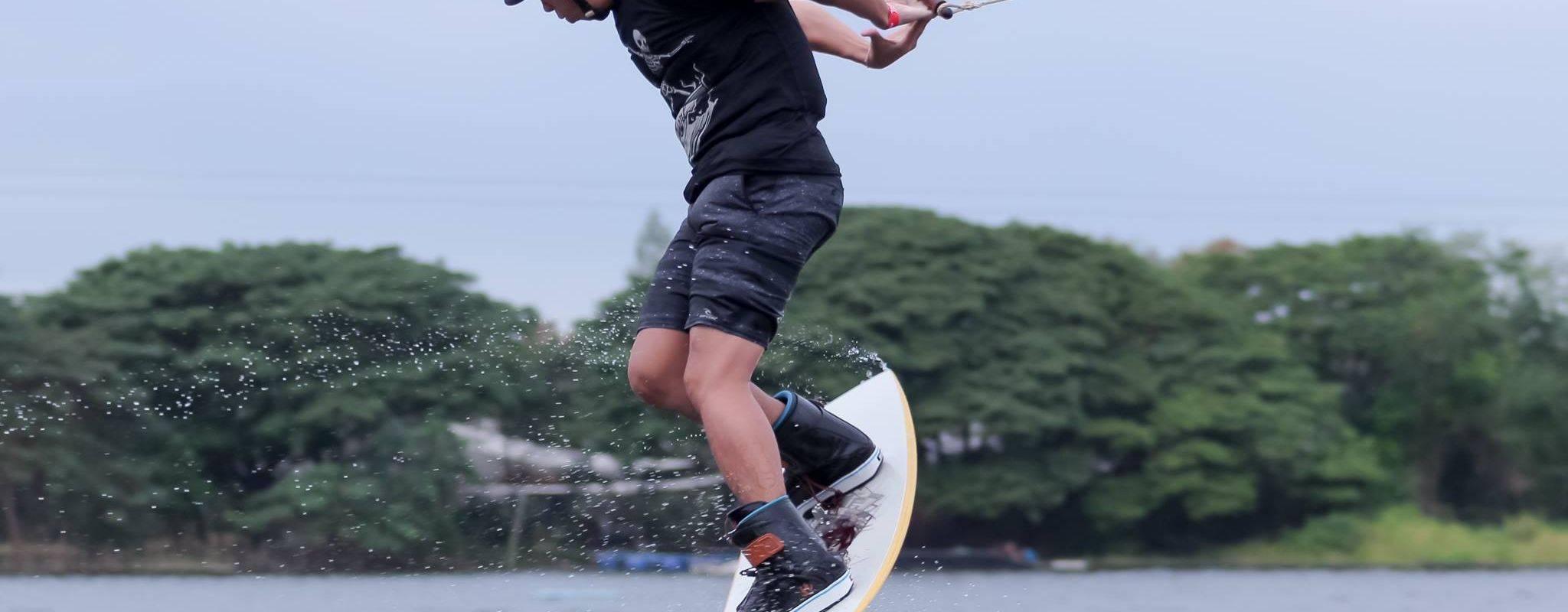 Challenge yourself with Wakeboarding!
