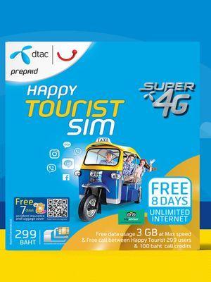 4G Unlimited Data SIM: BKK Airport Pickup (Suvarnabhumi Airport)