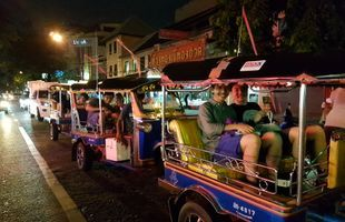 Food & Market Tour   See Bangkok Night Life by Tuk Tuk