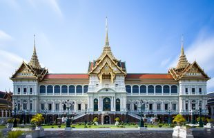 Visiting historical places and old classic area of Bangkok