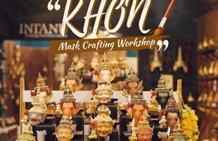 Thai Tradition 'Khon' Mask Crafting Workshop