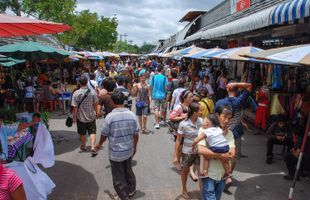 Chatuchak Park and Market Tour