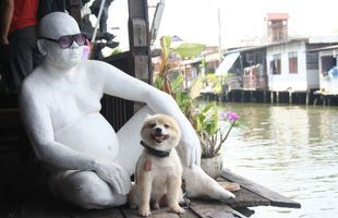 Thai Fun: Taling Chan Floating Market with Thai Puppet Show