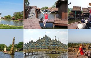 1 Day trip at Muang Boran (Ancient City) & Bangpoo Recreation Center.