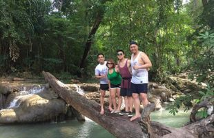Erawan Waterfall Tour