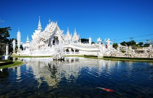 The Magnificent White Temple