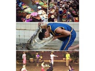 [Joined Tour] Damnoen Saduak + Crocodile Show
