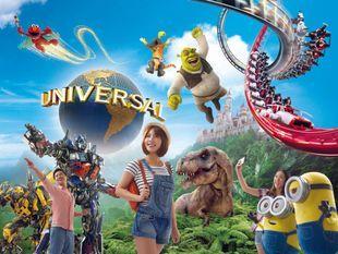 บัตรเข้าสวนสนุกยูนิเวอร์แซล สตูดิโอ สิงคโปร์ ราคาพิเศษ (Universal Studios Singapore)