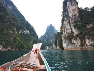Experience Boating in Khao Sok Lake