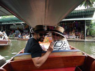 Visit Local Markets: Umbrella Railway Market, Amphawa Floating Market and Damnoen Saduak Floating (Private boat)