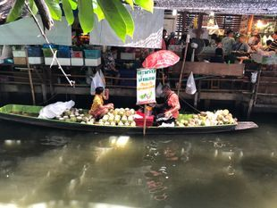 Khlong Lat Mayom Floating Market Canal Tour