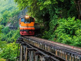 A Tour of the Historic Kanchanaburi Railway