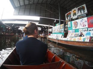 Damnoen Saduak Floating Market, Maeklong Railway Market and Boat Ride to Temple in the Tree!