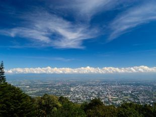 Trekking to Doi Suthep Mt. through A Natural Trail