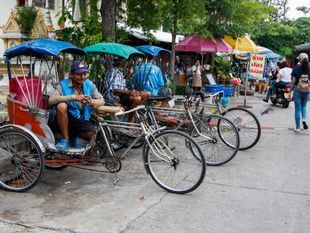 Travel around Koh kret
