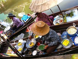 Tour Near Suvarnabhumi Airport - Kwan Riam Floating Market, Botanic Garden and Night Market