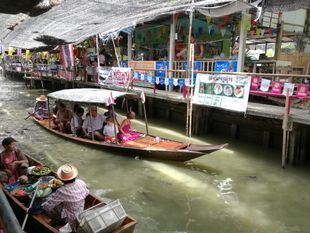 [Joined Tour] Damnoen Saduak Floating Market Tour