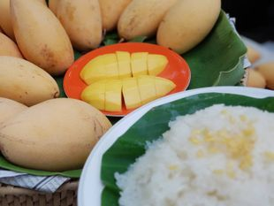 Mango Sticky Rice Cooking Class