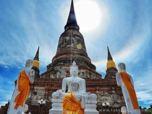 Historical City of Ayutthaya [Free Internet Wifi!]