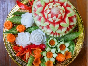 Private 3-Hour Vegetable and Fruit Carving Class in Chiang Mai