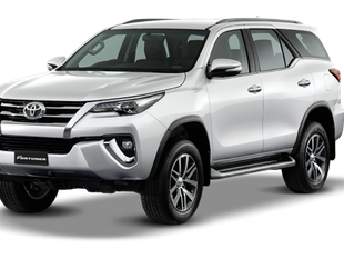 Car Rental with Personal Driver (Toyota Fortuner)