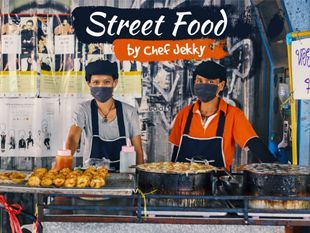 Street Food Tour by Chef Jekky