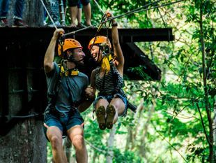Angkor Zipline: Adventure among nature