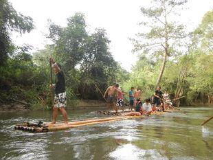 Bamboo Rafting @ Mae Wang Chiang Mai
