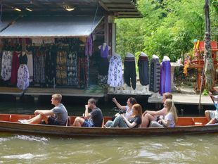 Get Enchanted at Khlong Lat Mayom Floating Market