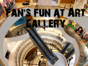 Bangkok Art Gallery with Fan's fun