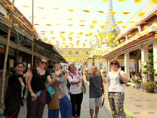 Joined Tour: Bangkok Old Town's Walking Tour: The Rattanakosin Story