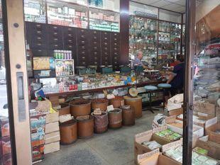 Shopping day at Sampeng Lane Market