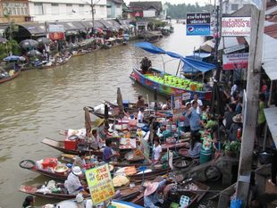Unseen Mae Klong Railway Market and Amphawa Floating Market