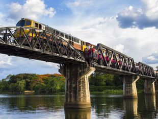 Kanchanaburi: Historical Route (River Kwai Bridge+JEATH War Museum+Death Railway)