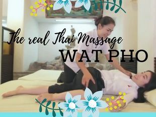 Real Traditional Thai Massage at Wat Pho and Enjoy Bangkok Old Town Food